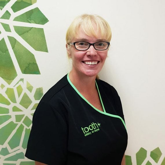 Lesley Roe Patient Support at tooth+ Stirling dentist