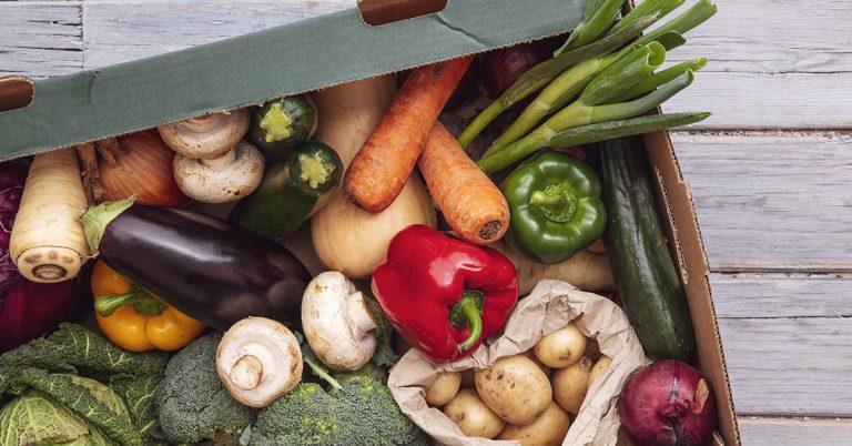 fruit and vegetables in stirling