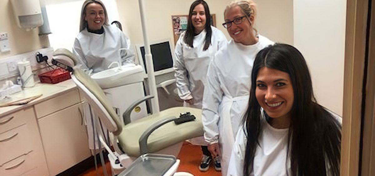 The dental team at Stirling dentist Tooth Plus